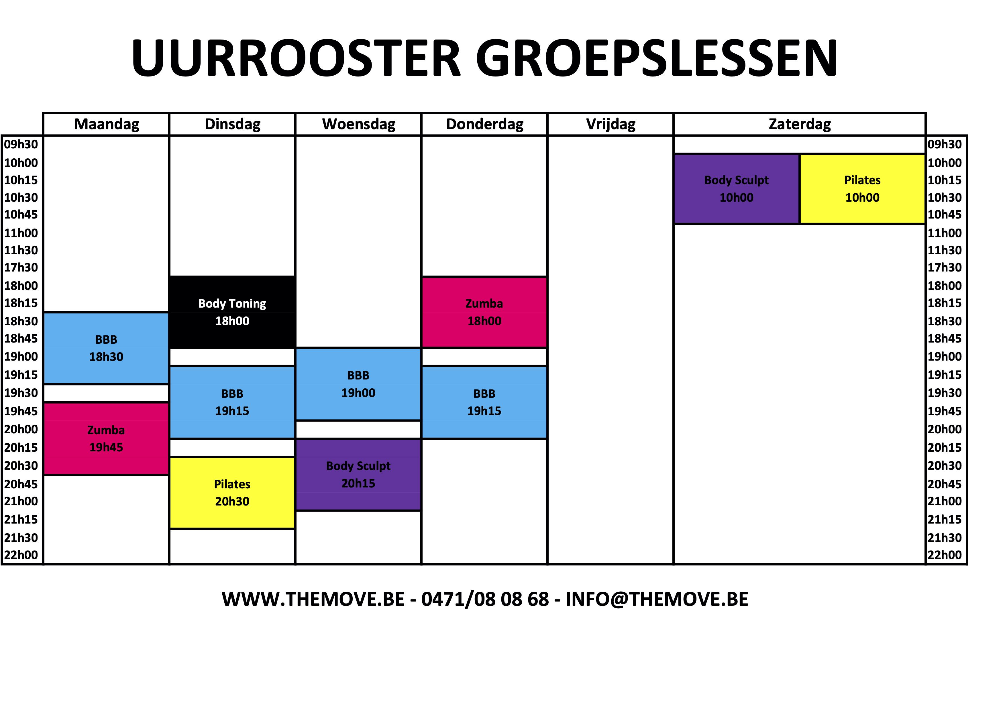 Uuurroster zomer 2020 xlsx